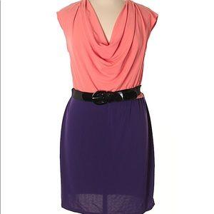 Worthington Cowl Neck Dress